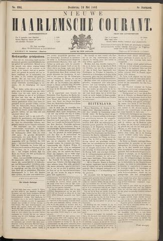 Nieuwe Haarlemsche Courant 1883-05-24