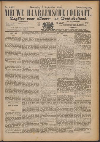 Nieuwe Haarlemsche Courant 1905-09-06