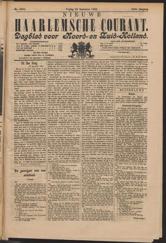 Nieuwe Haarlemsche Courant 1902-09-26
