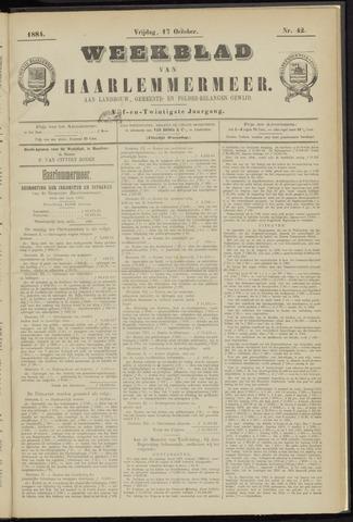 Weekblad van Haarlemmermeer 1884-10-17