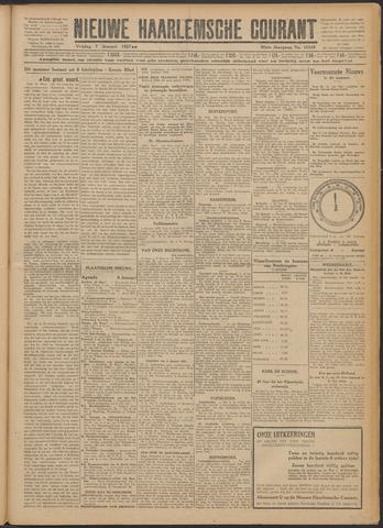 Nieuwe Haarlemsche Courant 1927-01-07