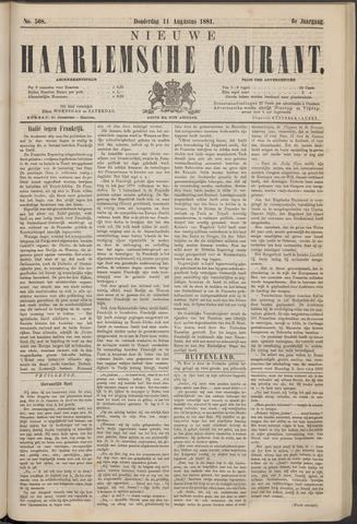 Nieuwe Haarlemsche Courant 1881-08-11