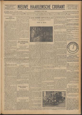 Nieuwe Haarlemsche Courant 1928-07-10