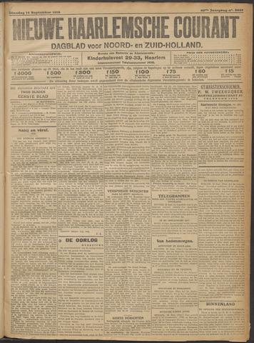 Nieuwe Haarlemsche Courant 1915-09-14