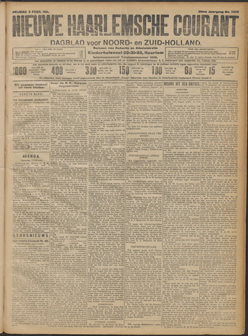 Nieuwe Haarlemsche Courant 1911-02-03