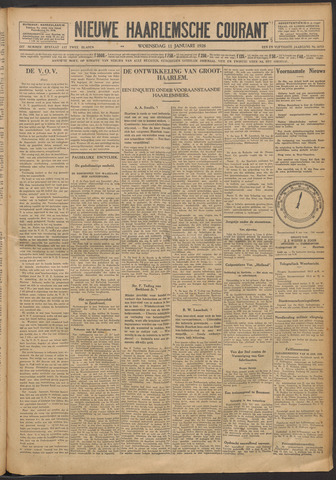 Nieuwe Haarlemsche Courant 1928-01-11