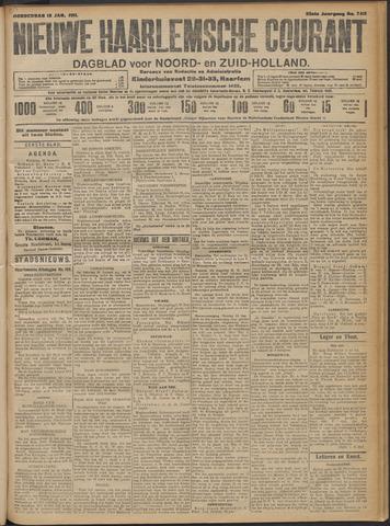 Nieuwe Haarlemsche Courant 1911-01-12