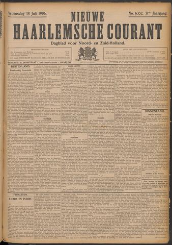 Nieuwe Haarlemsche Courant 1906-07-18