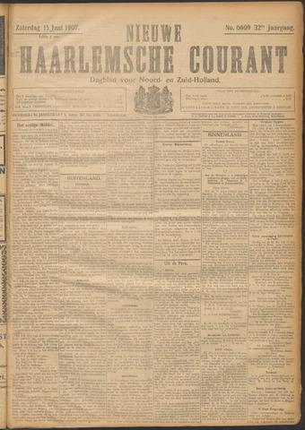 Nieuwe Haarlemsche Courant 1907-06-15