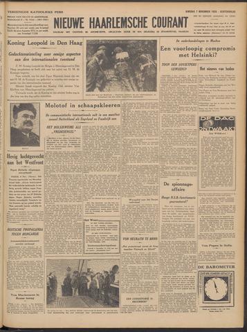 Nieuwe Haarlemsche Courant 1939-11-07