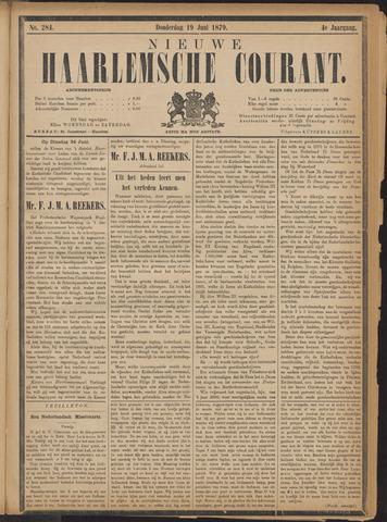 Nieuwe Haarlemsche Courant 1879-06-19