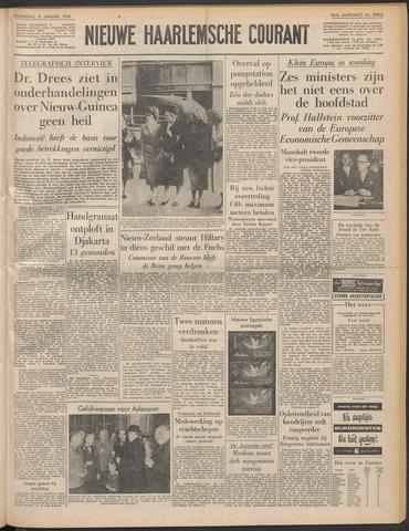 Nieuwe Haarlemsche Courant 1958-01-08