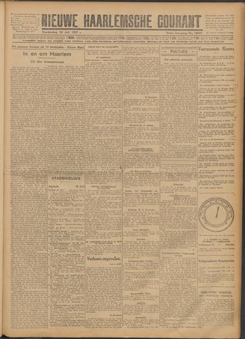 Nieuwe Haarlemsche Courant 1927-07-14