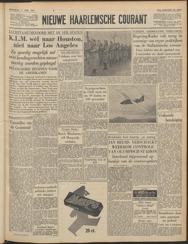 Nieuwe Haarlemsche Courant 1957-04-04