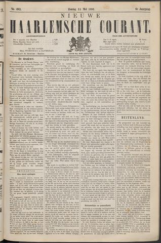 Nieuwe Haarlemsche Courant 1881-05-15