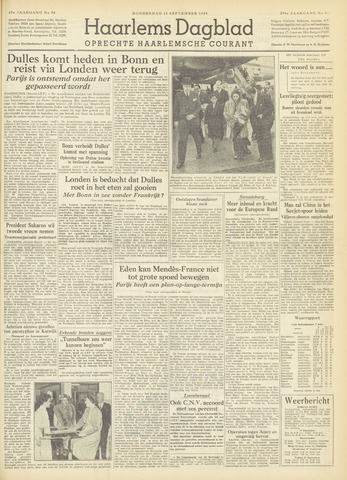 Haarlem's Dagblad 1954-09-16