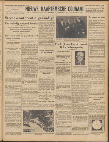 Nieuwe Haarlemsche Courant 1935-04-15