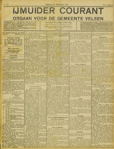 IJmuider Courant 1921-12-31