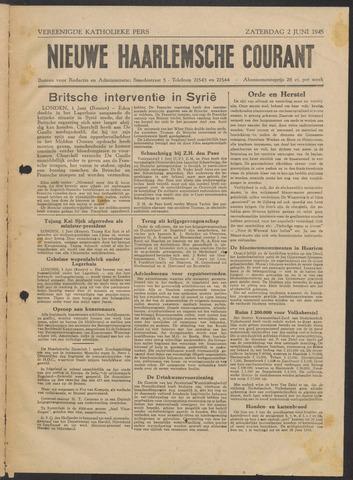 Nieuwe Haarlemsche Courant 1945-06-02