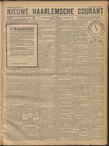 Nieuwe Haarlemsche Courant 1921-12-20