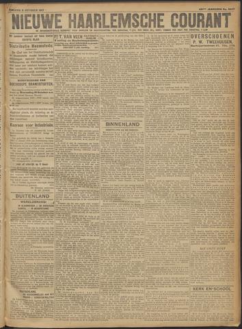 Nieuwe Haarlemsche Courant 1917-10-09