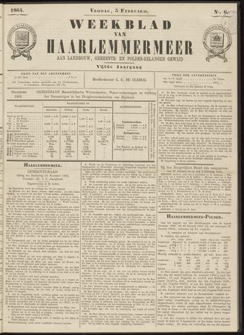 Weekblad van Haarlemmermeer 1864-02-05