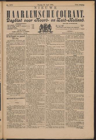 Nieuwe Haarlemsche Courant 1902-04-22