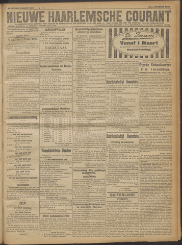 Nieuwe Haarlemsche Courant 1919-03-08