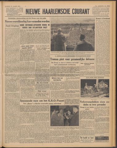 Nieuwe Haarlemsche Courant 1951-03-27