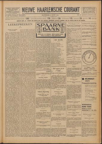 Nieuwe Haarlemsche Courant 1931-06-13