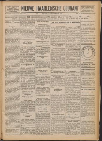 Nieuwe Haarlemsche Courant 1929-11-19
