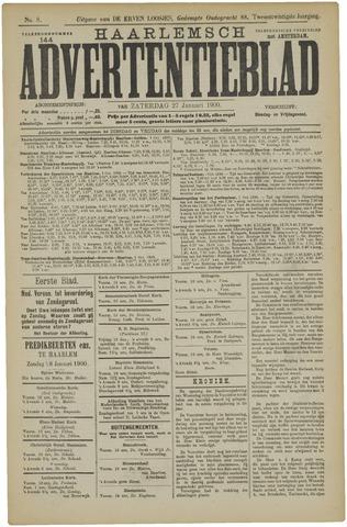 Haarlemsch Advertentieblad 1900-01-27