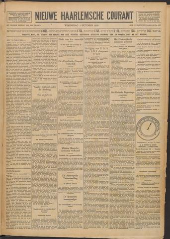 Nieuwe Haarlemsche Courant 1930-10-01