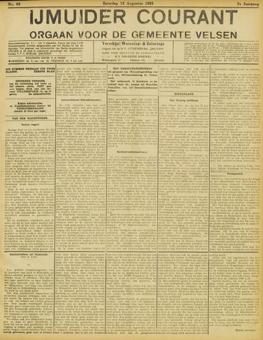 IJmuider Courant 1922-08-12