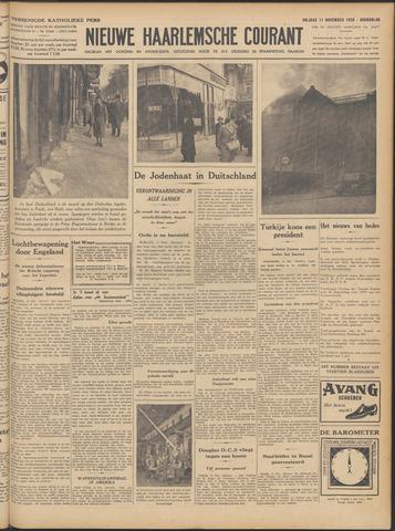 Nieuwe Haarlemsche Courant 1938-11-11