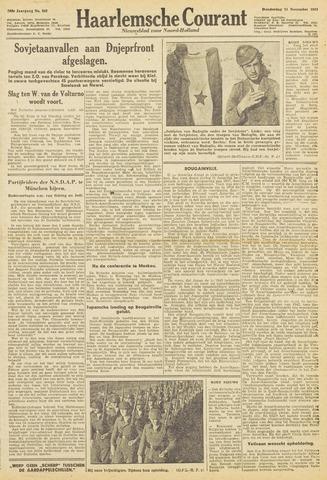 Haarlemsche Courant 1943-11-11