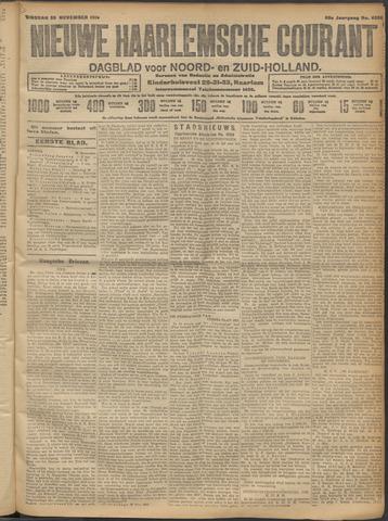 Nieuwe Haarlemsche Courant 1913-11-25