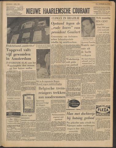 Nieuwe Haarlemsche Courant 1964-04-01