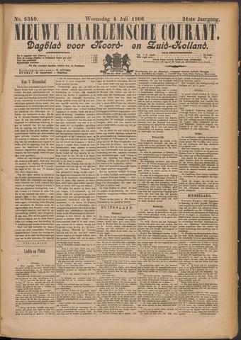 Nieuwe Haarlemsche Courant 1906-07-04