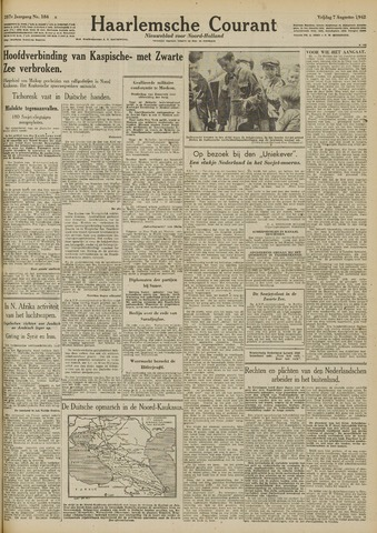Haarlemsche Courant 1942-08-07
