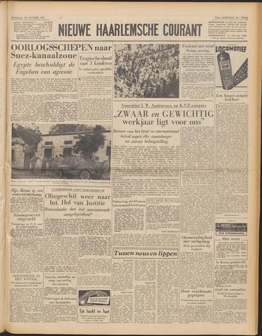 Nieuwe Haarlemsche Courant 1951-10-20