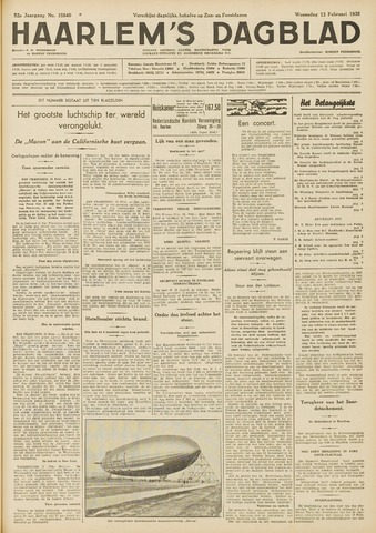 Haarlem's Dagblad 1935-02-13