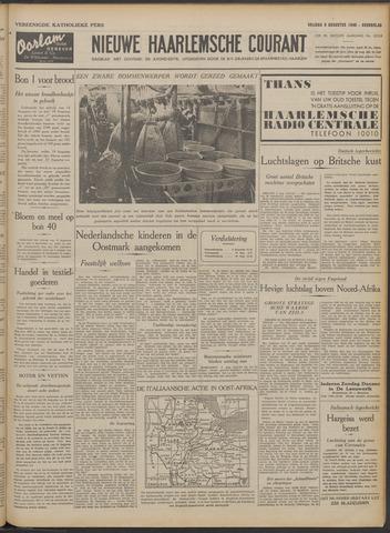 Nieuwe Haarlemsche Courant 1940-08-09