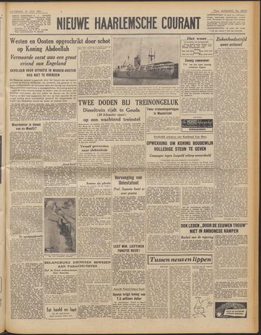 Nieuwe Haarlemsche Courant 1951-07-21