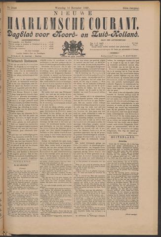 Nieuwe Haarlemsche Courant 1897-11-10