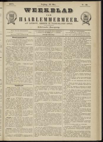Weekblad van Haarlemmermeer 1877-05-25
