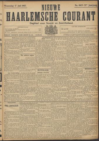 Nieuwe Haarlemsche Courant 1907-07-17