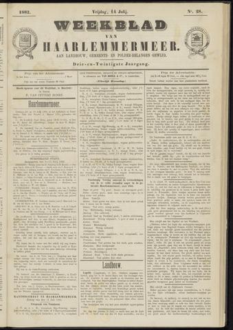 Weekblad van Haarlemmermeer 1882-07-14