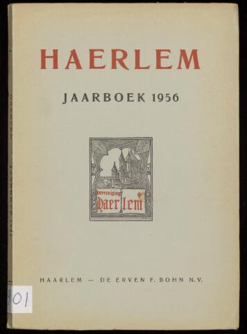 Jaarverslagen en Jaarboeken Vereniging Haerlem 1956