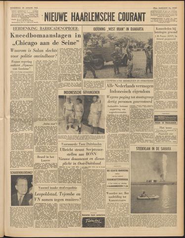Nieuwe Haarlemsche Courant 1962-01-25